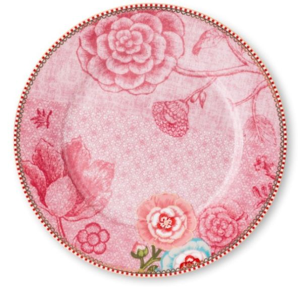Pip Studio Pink Plate 21cm Pre-Order only