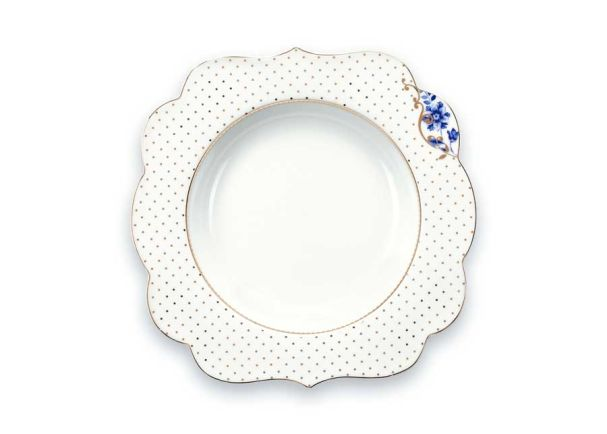 Soup Plate Royal White 23.5cm