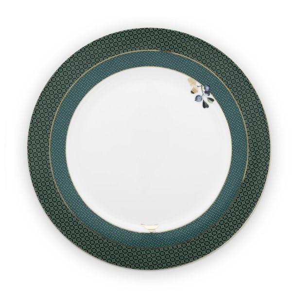 Plate Winter Wonderland Green 26.5cm