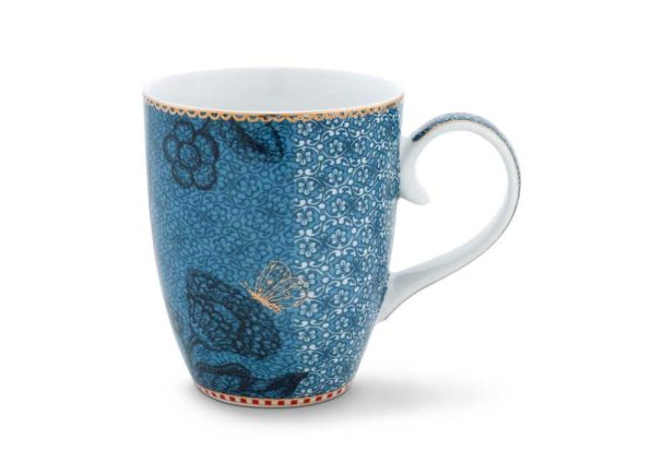 Mug Large Spring to Life Blue