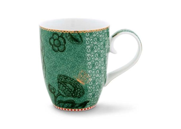 Mug Large Spring to Life Green