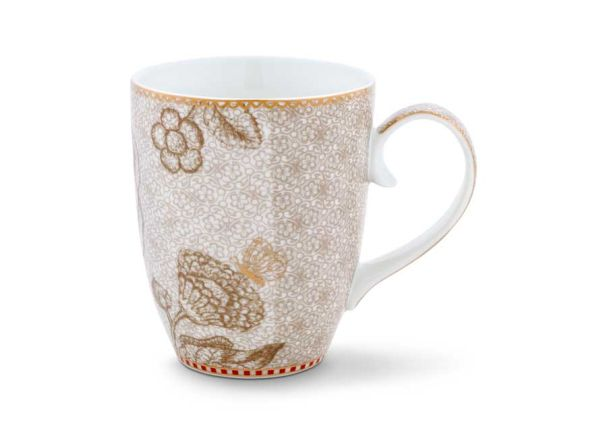 Mug Large Spring to Life Off White