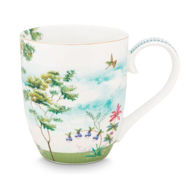 Pip Studio Jolie Heron 450ml XL Mug