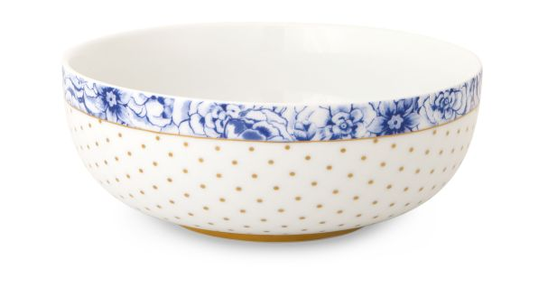 Pip Studio Bowl Royal White - 15 cm