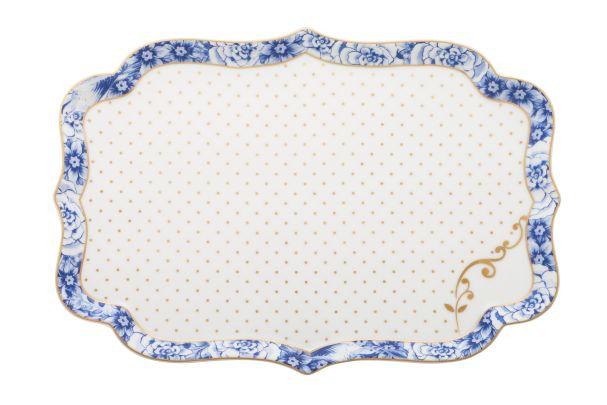 Pip Studio Tray Royal White - 26 cm