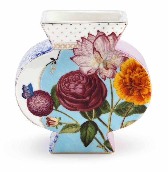 Pip Studio Vase Flat Royal