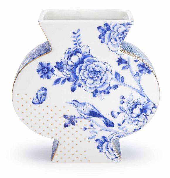 Pip Studio Vase Flat Royal White