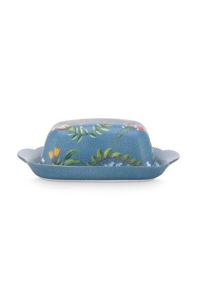 Butter Dish La Majorelle Blue