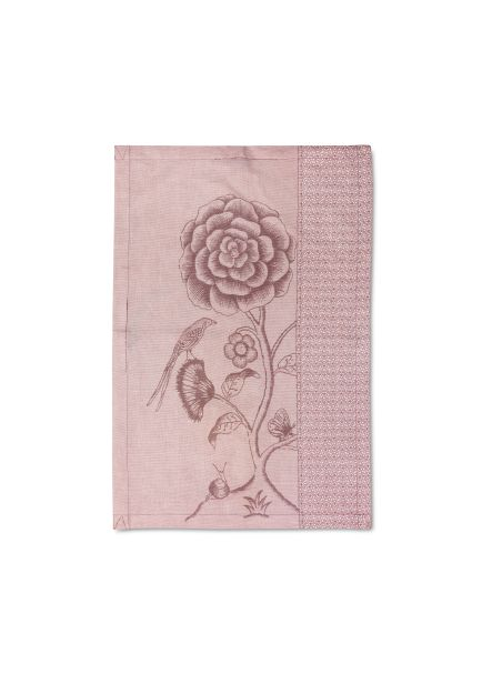 Tea Towel Spring to Life Pink Lacy 50x70cm