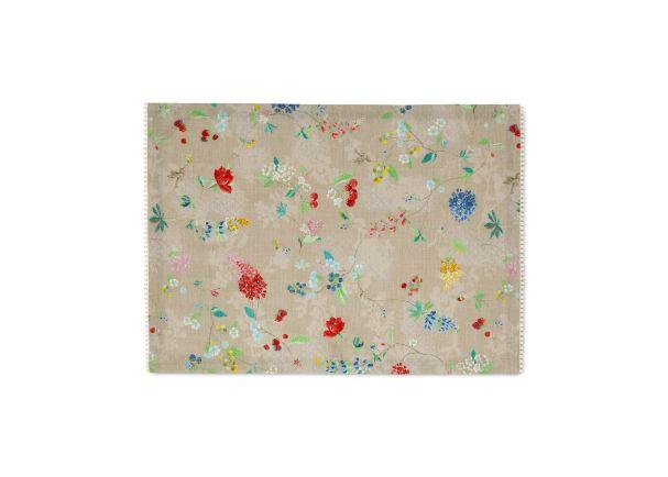 Pip Studio Floral 2.0 Tea Towel Khaki