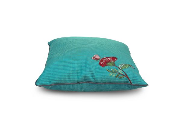 Pip Studio Green Quilted Cushion