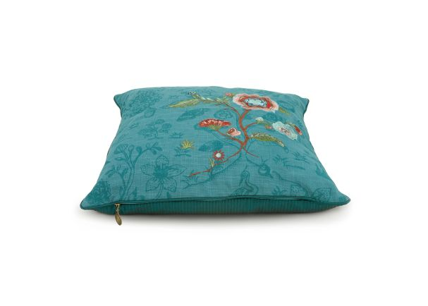Green Spring to Life 2 Tone Cushion
