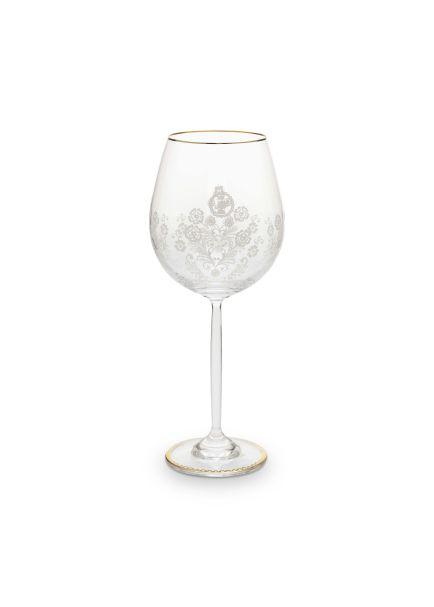 Pip Studio Wine Glass Floral