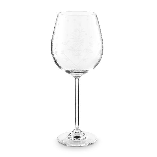Pip Studio 450ml Etching Wine Glass