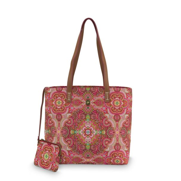 Pip Studio Medium Moon Delight Red Shopper