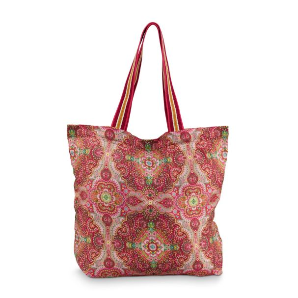 Pip Studio Moon Delight Red Foldable Bag