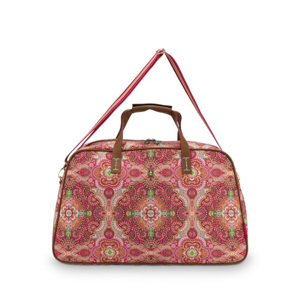 Pip Studio Medium Moon Delight Red Weekend Bag
