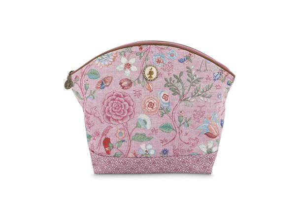 Cosmetic Bag Large Spring to Life Pink