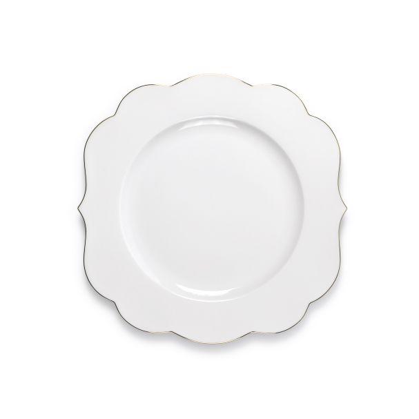 PiP Royal Plate White - 28cm