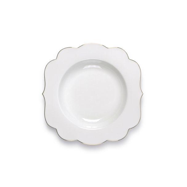 PiP Royal Soup Plate White
