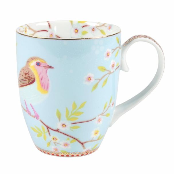 PiP Studio Large Mug Early Bird Blue