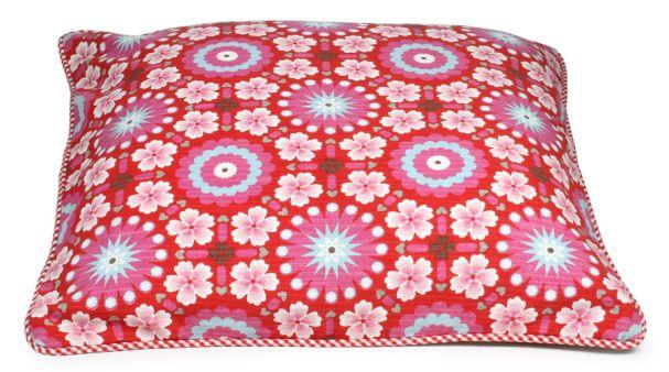PiP Studio cushion PiP tiles design in red