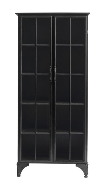 AW13 DOWNTOWN iron cabinet black