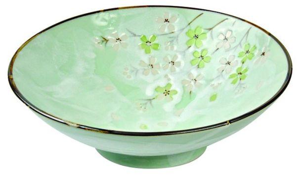 Tokyo Design Green Cosmos Bowl 24x8cm