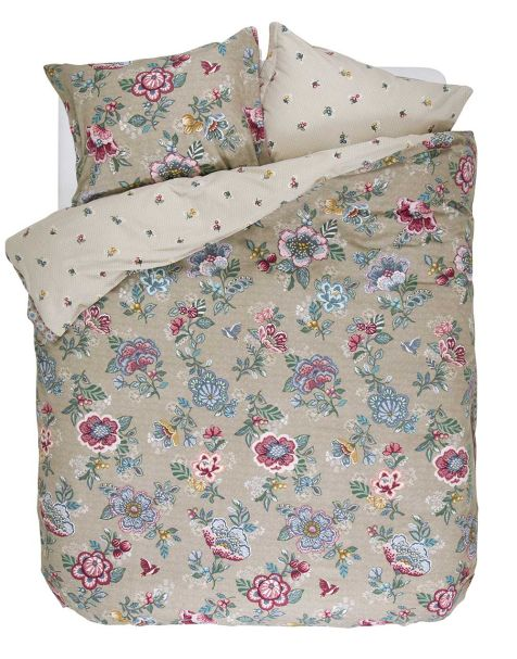Berry bird Duvet set kahki king 230x220+2/50x75