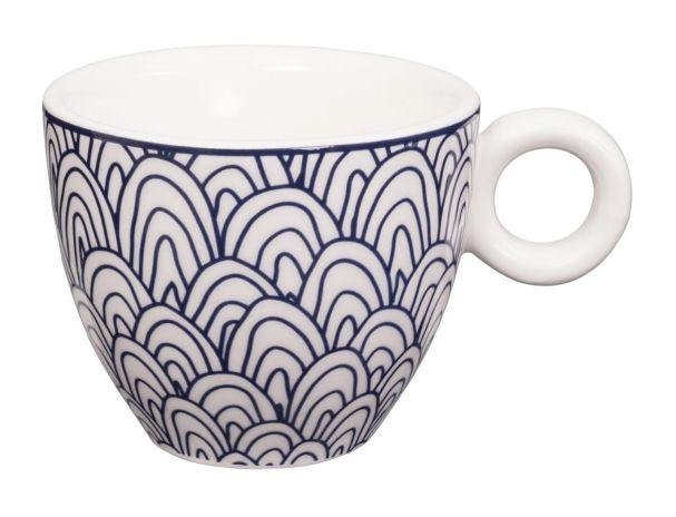 Bleu de'NÎmes Espresso Cup 6.5x5.3cm Scale