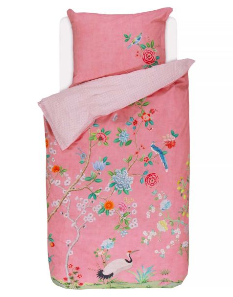 Pip Studio Good Morning Duvet Set Pink Single