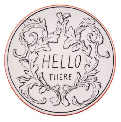 Molly Hatch Hello There Plate