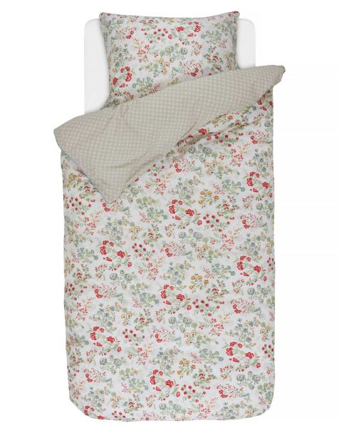 Pip Studio Jaipur Flower Pillowcase Khaki 50x75