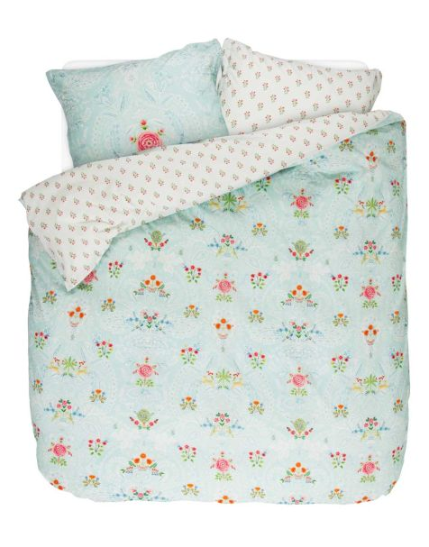 Pip Studio Yes Madam Duvet Set Blue Double