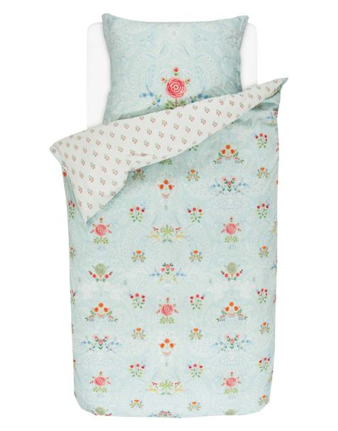 Pip Studio Yes Madam Duvet Set Blue Single