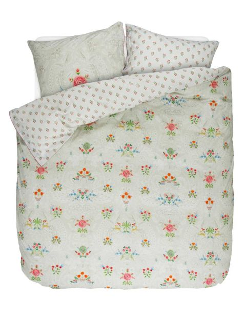 Pip Studio Yes Madam Duvet Set Khaki Double